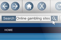 Online gambling.