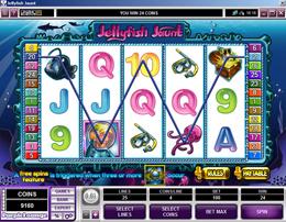 Jellyfish Jaunt Video Slot Machine Review